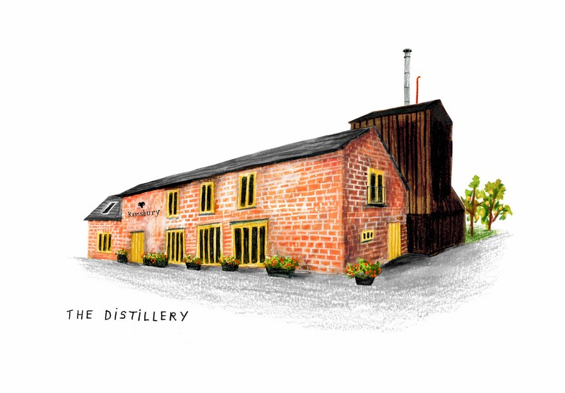 DISTILLERIA Ramsbury Single Estate Gin
