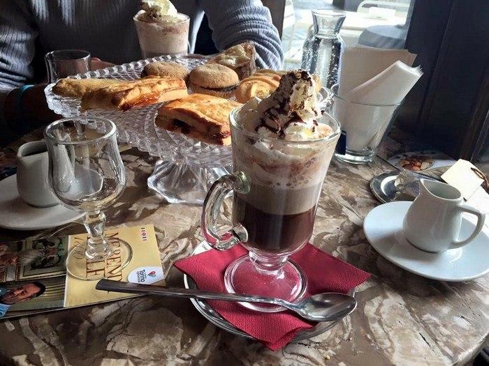 colazione al caffé Elena di Torino