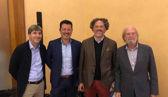 Marco Magnoli, Klaus Gasser, Axel Heinz, Gigi Brozzoni
