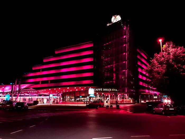 Resort Perla Ottobre in rosa