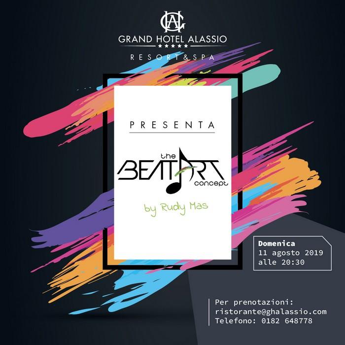The Beat Art Concept ad Alassio