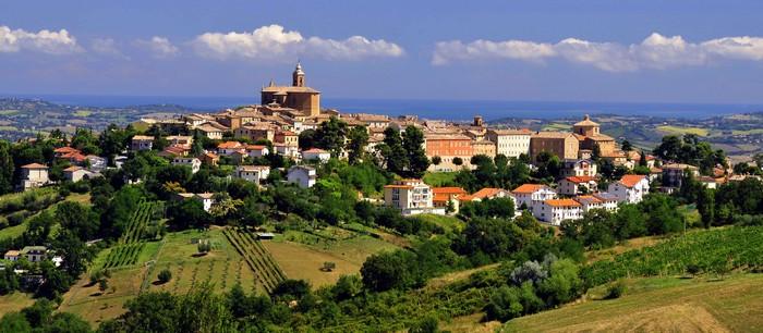 borgo medioevale montecarotto, ancona