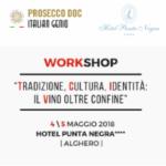"""""""Tradizione, Cultura, Identità: il Vino oltre confine"""" – workshop all'Hotel Punta Negra di Alghero il 4 e 5 maggio"""