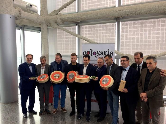 Produttori formaggio a Golosaria Milano 2018