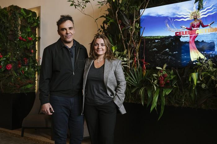 David LaChapelle e Francesca Lavazza