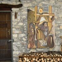 Arcumeggia, il primo borgo d'Italia affrescato