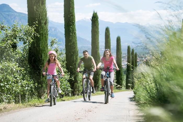 Vacanza in bicicletta in Alto Adige