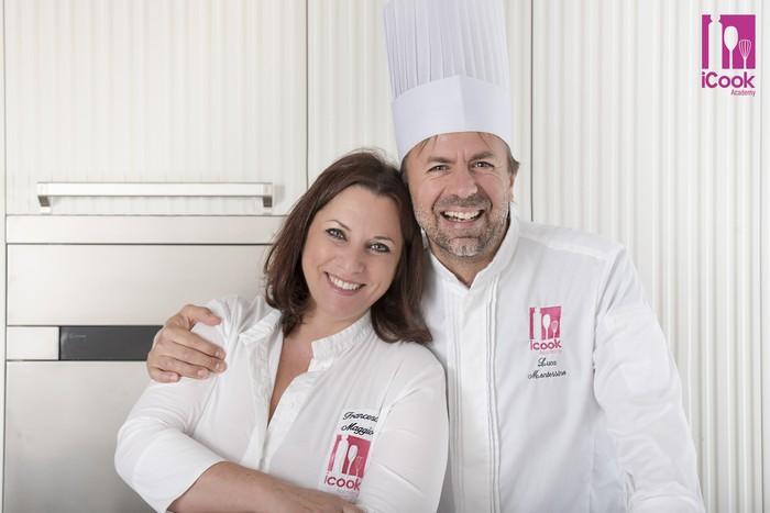 Francesca Maggio e Luca Montersino iCook Academy