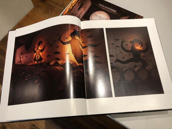 libro sulle opere dell'artista curato da Luca Nannipieri