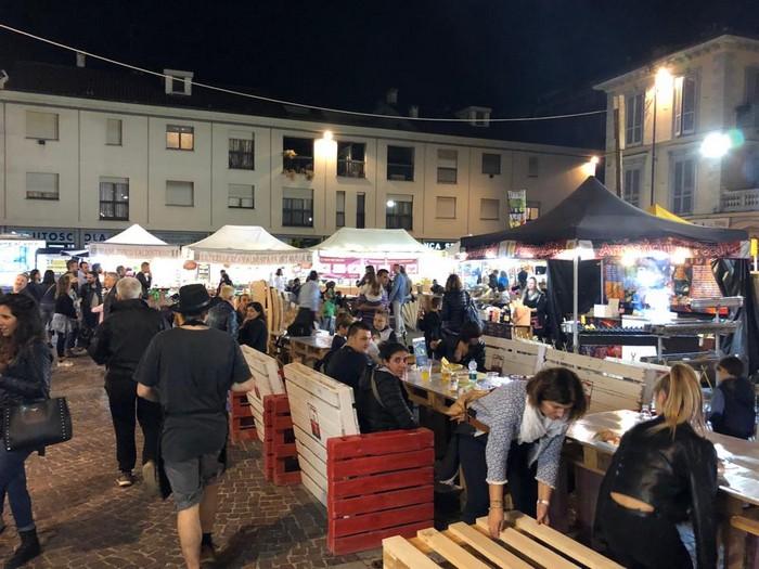 street food a Carignano, Torino