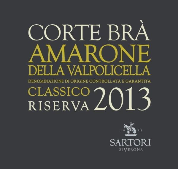 AMARONE RISERVA 2013 CORTE BRA etichetta