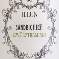 "Alto Adige DOC – ""Sandbichler Gewürztraminer"" 2019 | H. Lun"