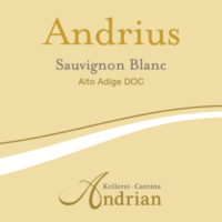 Alto Adige Sauvignon Blanc DOC – Andrius 2019