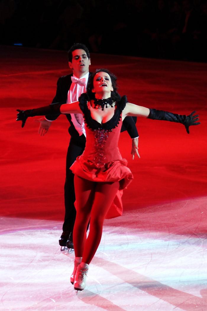 Anna Cappellini e Luca Lanotte pattinaggio