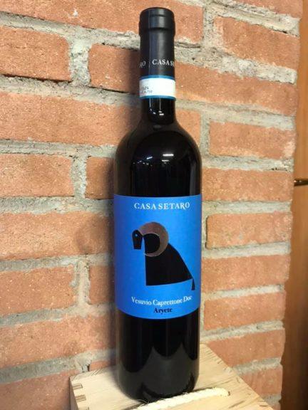 vino Aryete Caprettone DOC maturato in anfora