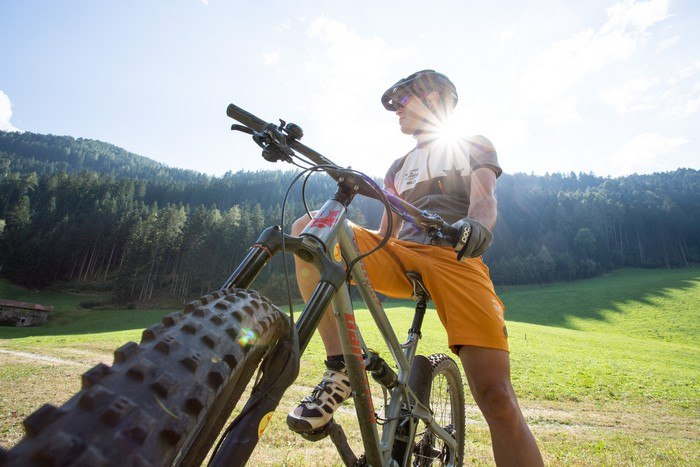 Hotel in Trentino Alto Adige con mountain bike