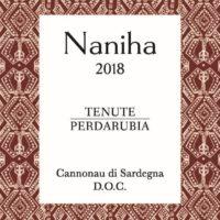 """Cannonau di Sardegna DOC – """"Naniha"""" 2018"""