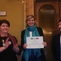 Chiara Lungarotti si aggiudica il Premio Donne per il Made in Italy