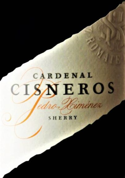 """sherry Pedro Ximénez – """"Cardenal Cisneros"""""""