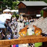 Festa del prosciutto in Friuli nel borgo di Sauris