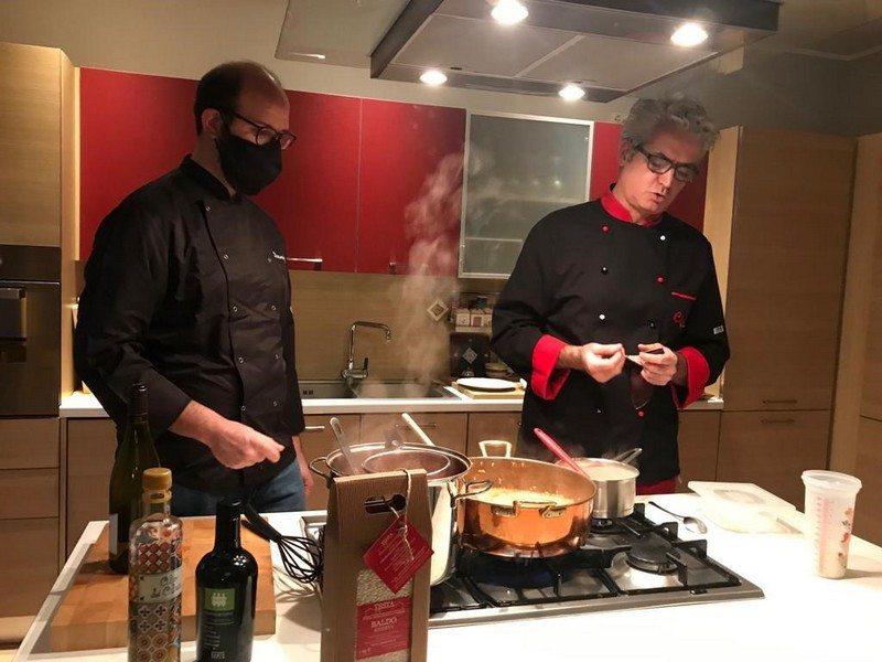 Chef Antonio Bello e Daniele Giacchetto