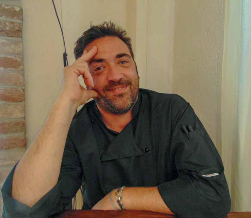 Chef Pier Mario Monzeglio