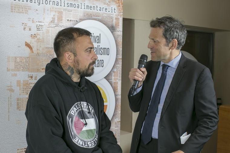 Chef Rubio intervistato da Massimiliano Borgia
