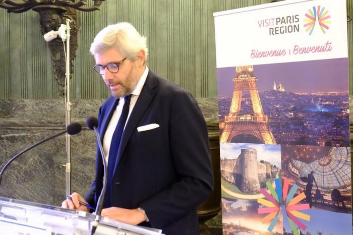 Christophe Decloux, Direttore del Comitato Regionale per il Turismo Paris Region