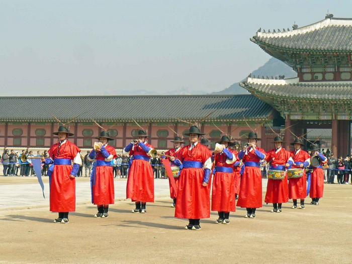 Corea-Seul parata