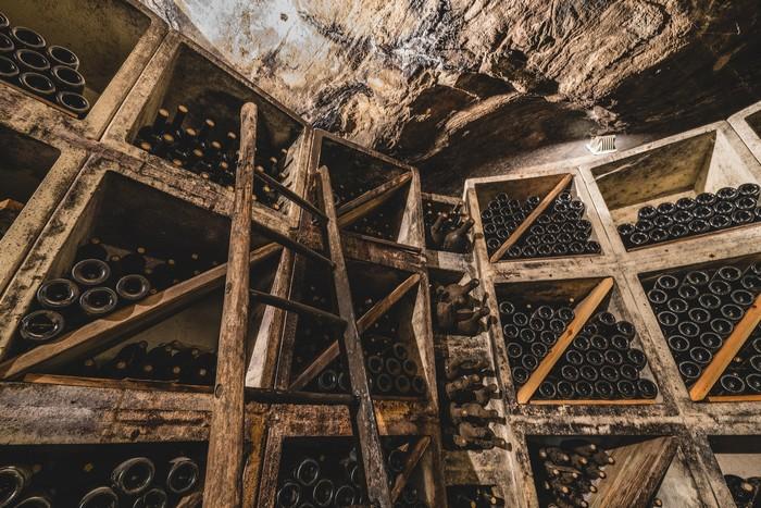 vecchie annate del crotto di Mamete Prevostini