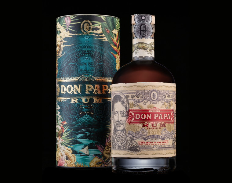Don Papa Cosmic Canister Bottle