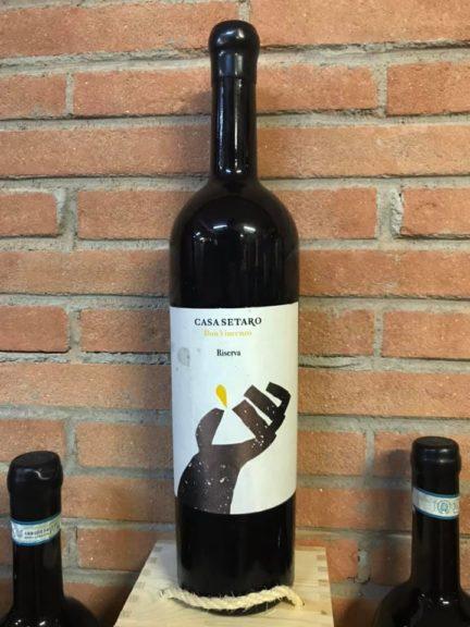 vino on Vincenzo Riserva Lacryma Christi Vesuvio Rosso