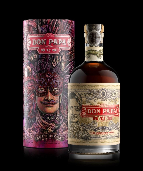 Don Papa Rum Art Canister e Don Papa Masskara Canister