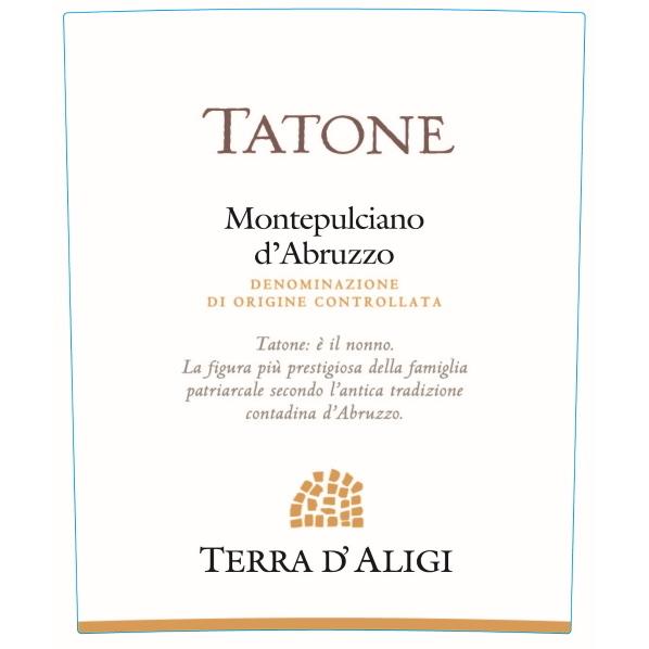 Etichetta Terra D'Aligi Tatone