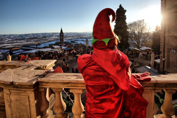 Elfi a Govone al Magico Paese di Natale