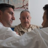 Aimo Moroni, Fabio Pisani e Alessandro Negrini