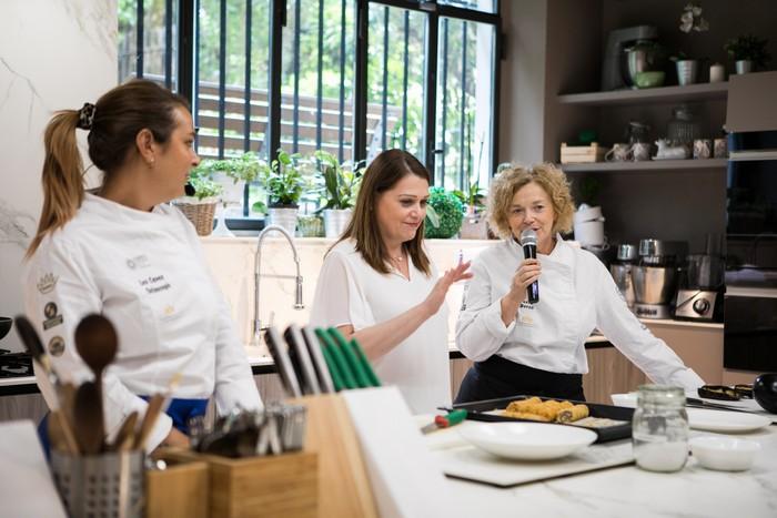 scuola di cucina col prosciutto di Parma Dop