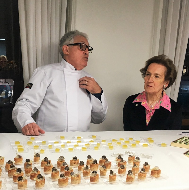 Franco Ugetti e Luisa Polto Delegata Parigi AIC