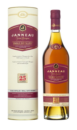 Janneau Single Distillery 25 anni