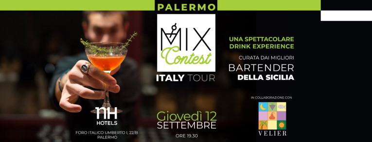 Locandina web Mix Contest Italy Tour - Palermo