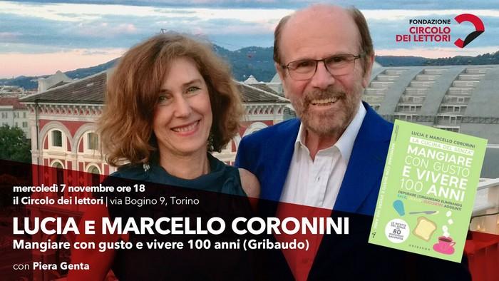Lucia e Marcello Coronini al Circolo dei Lettori di Torino