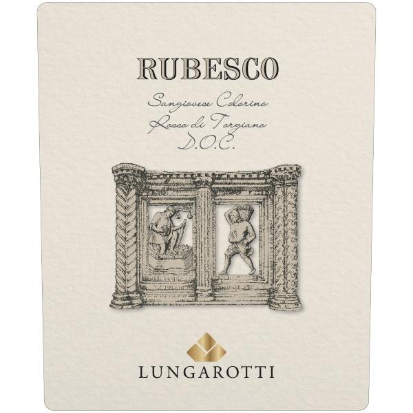 Lungarotti Rubesco etichetta