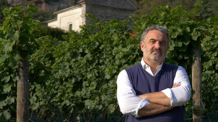 Mamete Prevostini viticoltore in Valtellina