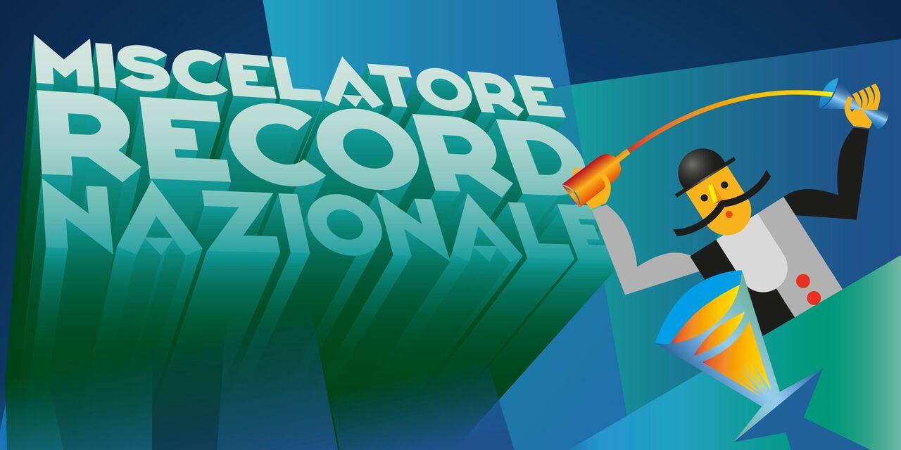 MISCELATORE RECORD NAZIONALE 2018