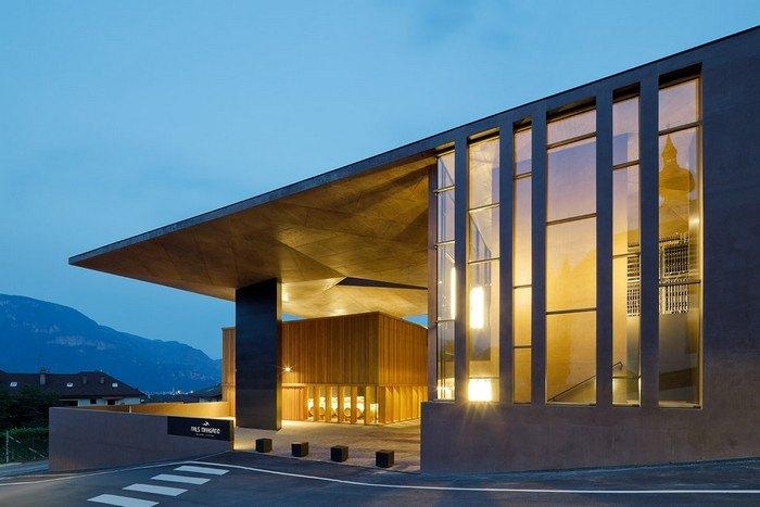 premio design a Cantina Nals Magreid