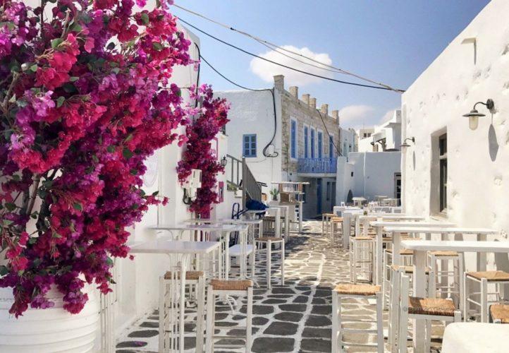 Naoussa, Paros, cicladi, Grecia
