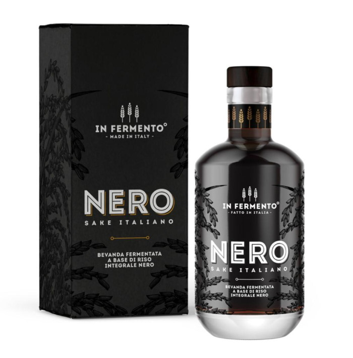 Nero, il Sake made in Piemonte