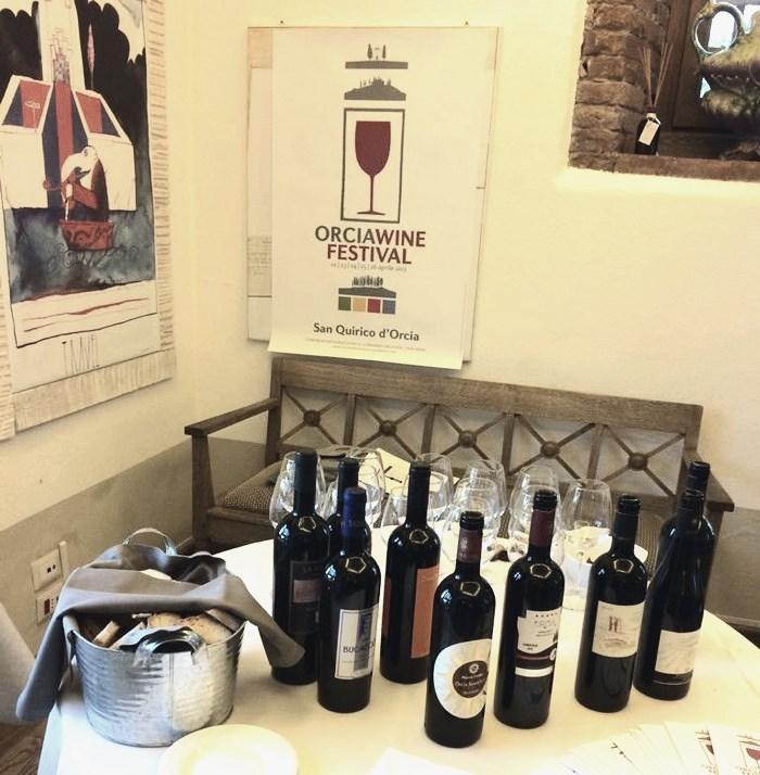 banchi assaggio ad orcia wine festival