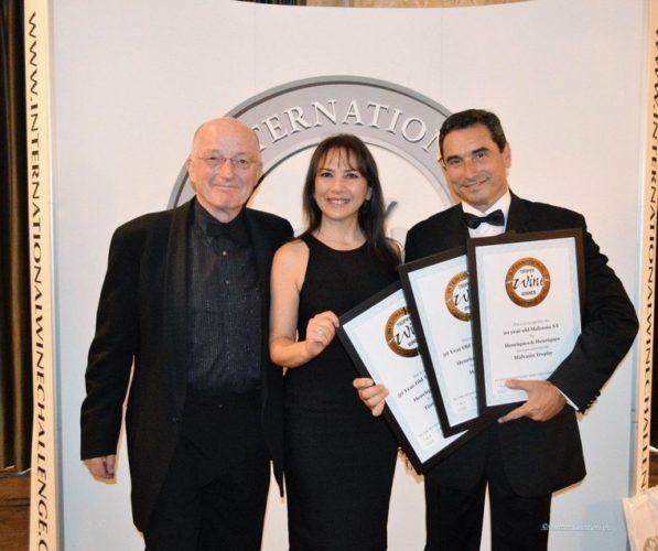 premiazione Henriques Henriques IWC Londra