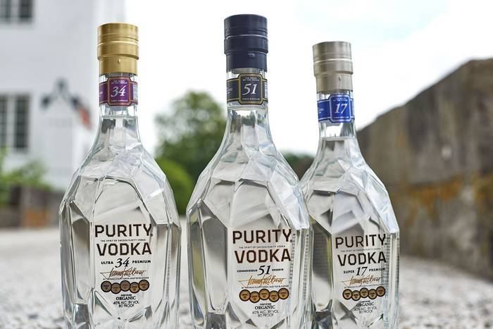 Vodka purity di Sagna
